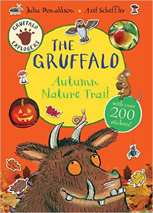 Gruffalo Explorers: The Gruffalo Autumn Nature Trail (+ стикеры) nature trail