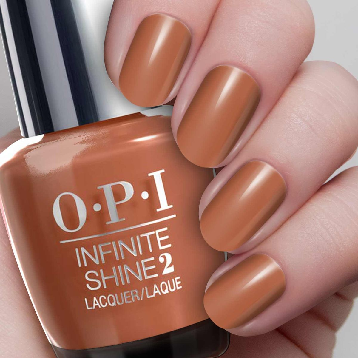 OPI Infinite Shine Лак для ногтей Brains & Bronze,15 мл
