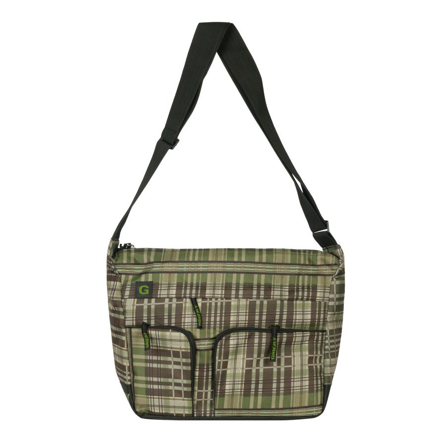 Сумка молодежная Grizzly, цвет: черный, зеленый, 15 л. MM-600-2/4MM-600-2/4Молодежная сумка Grizzly имеет одно отделение, плоский передний карман на молнии, задний карман на молнии, внутренний карман на молнии, внутренний карман-органайзер, регулируемый плечевой ремень.