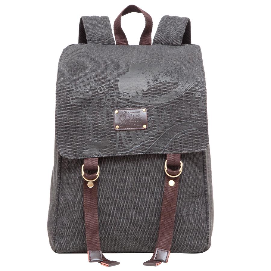 Рюкзак городской Grizzly, цвет: черный. RU-620-1/2 рюкзак городской grizzly цвет черный желтый 22 л ru 603 1 2