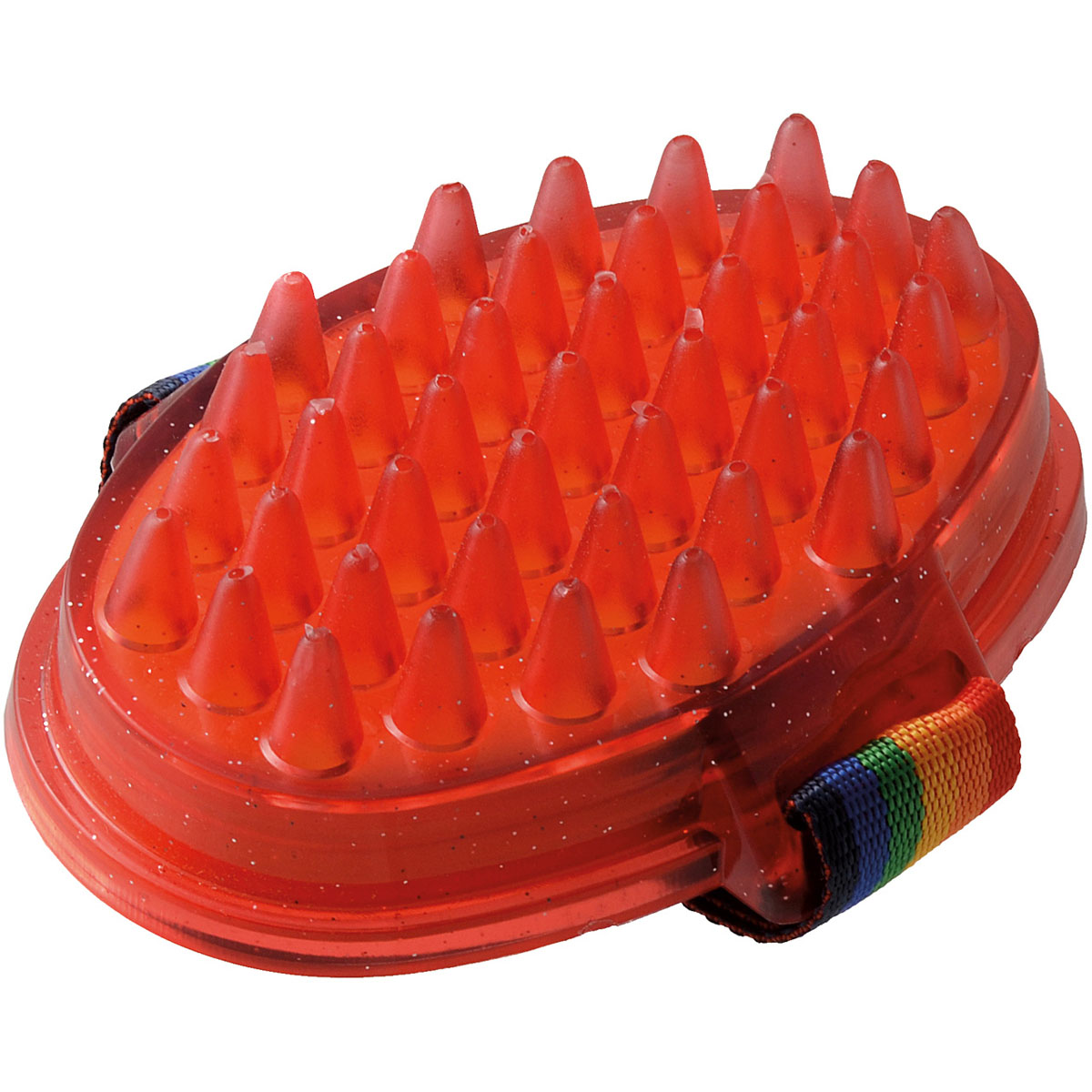 Щетка для животных  Hello Pet , с емкостью для шампуня, цвет: оранжевый