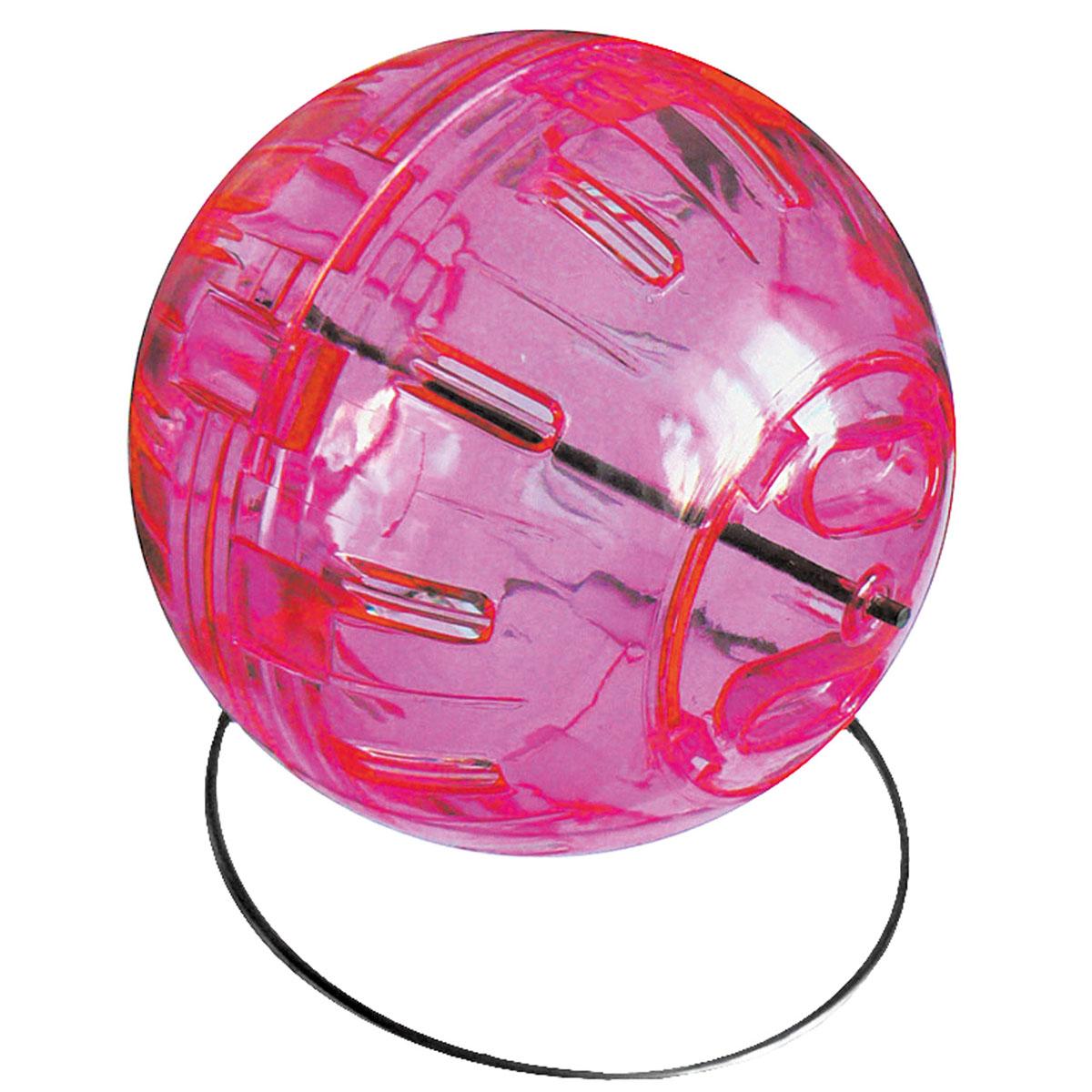Тренажер (шар прогулочный) для хомяка V.I.Pet, 13 смP598Предназначен для хомяков, крыс и других мелких грызунов.