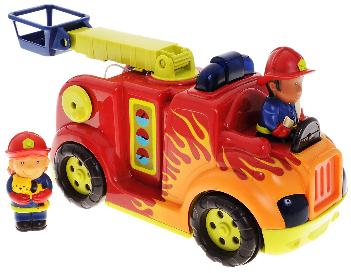 B.Dot Машина пожарная с подъемником машина пламенный мотор volvo v70 пожарная охрана 870189