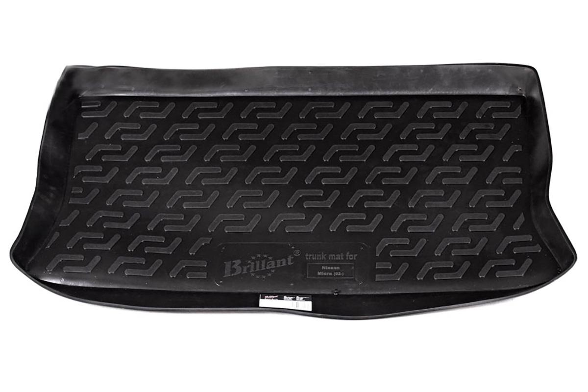 Коврик в багажник Nissan Micra hb (02-) полиуретан0105090101Коврики производятся индивидуально для каждой модели автомобиля из современного и экологически чистого материала, точно повторяют геометрию пола автомобиля, имеют высокий борт от 4 см до 6 см., обладают повышенной износоустойчивостью, антискользящими свойствами, лишены резкого запаха, сохраняют свои потребительские свойства в широком диапазоне температур (-50 +80 С).