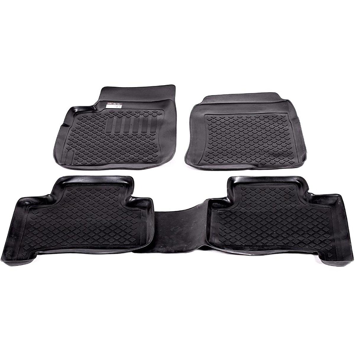Набор автомобильных ковриков L.Locker для Lexus GX 470 (02-), в салон, 4 шт0228030101Коврики L.Locker производятся индивидуально для каждой модели автомобиля из современного и экологически чистого материала, точно повторяют геометрию пола автомобиля, имеют высокий борт от 3 см до 4 см, обладают повышенной износоустойчивостью, антискользящими свойствами, лишены резкого запаха, сохраняют свои потребительские свойства в широком диапазоне температур (от -50°С до +80°С).