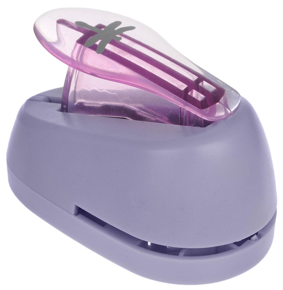 Hobbyboom Дырокол фигурный Стрекоза цвет фиолетовый 1,8 см - Степлеры, дыроколы