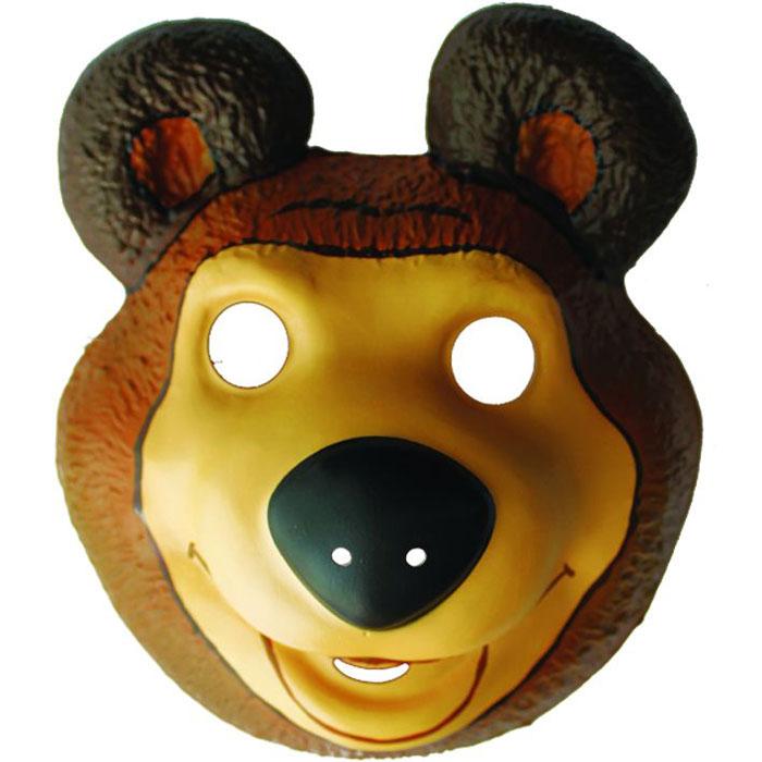 Маша и Медведь Маска карнавальная Медведь -  Маски карнавальные