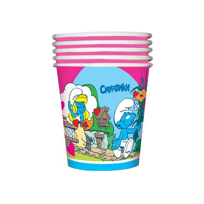The Smurfs Стакан бумажный Сердечки -  Сервировка праздничного стола