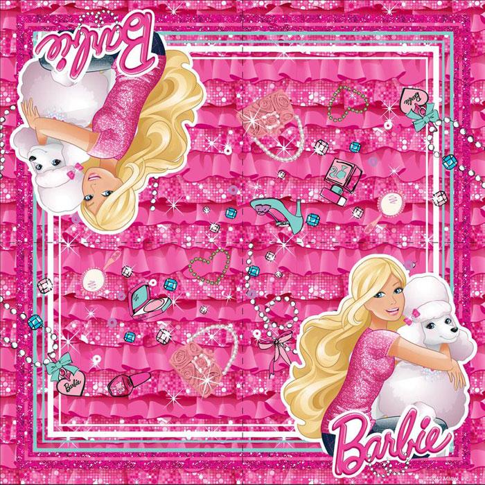 Barbie Салфетки двухслойные 20 шт -  Сервировка праздничного стола