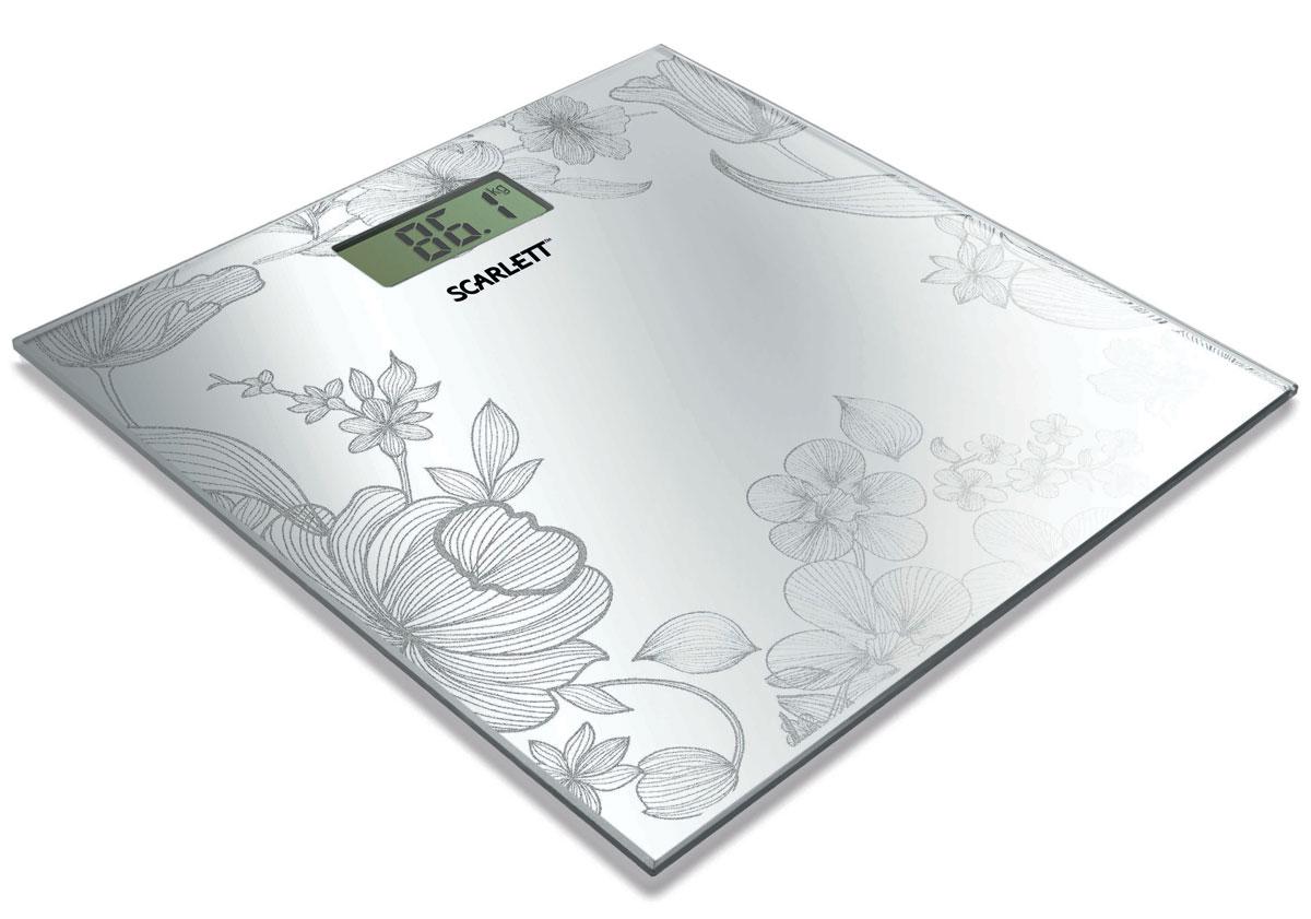 Scarlett SC-215, Silver напольные весы scarlett sc 065 silver мультистайлер