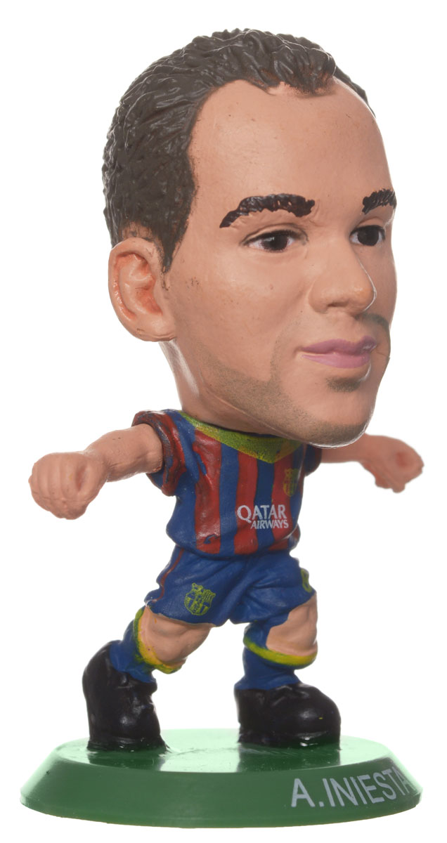 Soccerstarz Фигурка футболиста FC Barcelona A. Iniesta tryp barcelona condal mar hotel 4 барселона
