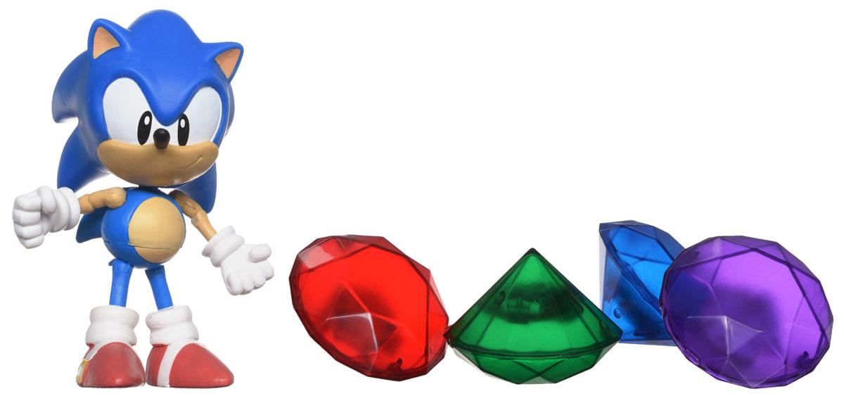Фигурка Sonic Sonic the Hedgehog, с аксессуарами original box sonic the hedgehog vivid nendoroid series pvc action figure collection pvc model children kids toys free shipping