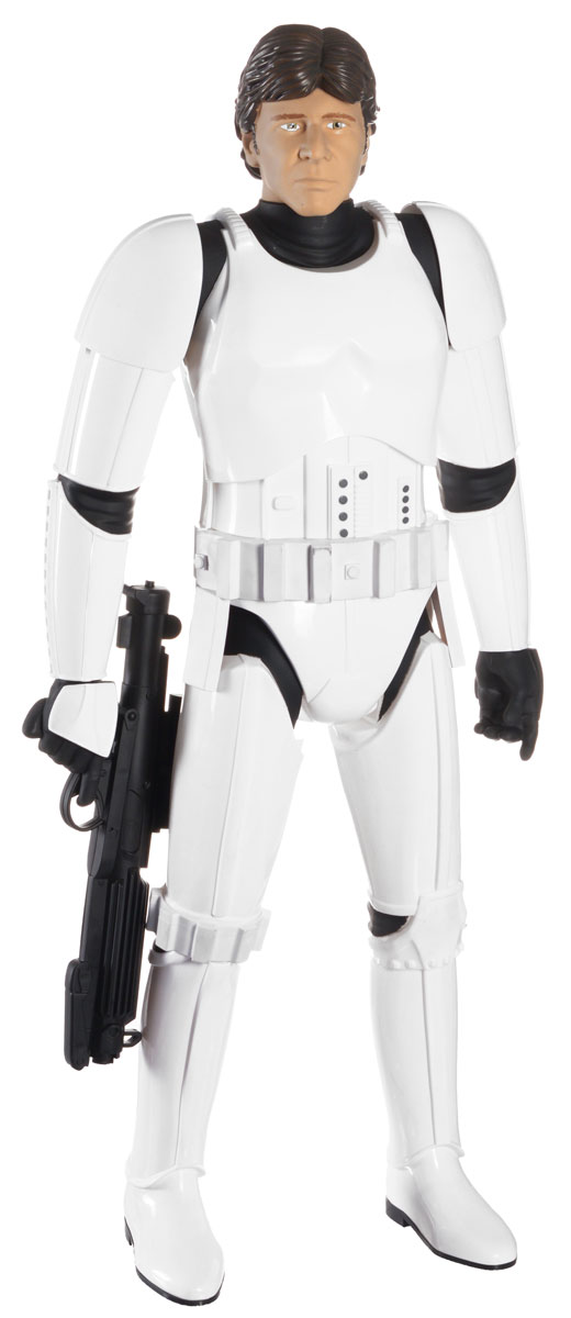 Фигура коллекционная Jakks Pacific Star Wars: Хан Соло, 79 см фигура star wars звездные войны хан соло 79 см