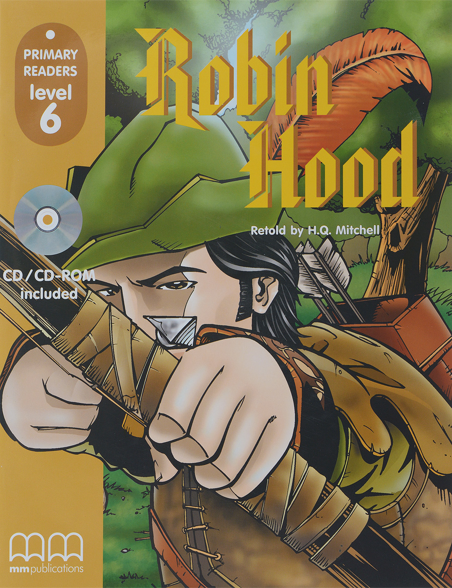 PRIMARY READERS - ROBIN HOOD (WITH CD-ROM)