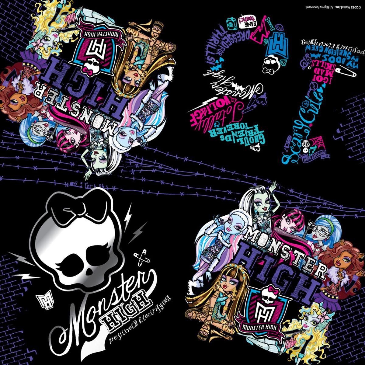 Monster High Салфетки Граффити 20 шт -  Сервировка праздничного стола