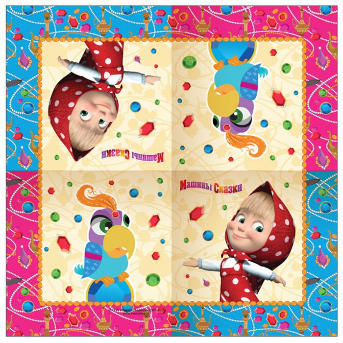 Маша и Медведь Салфетки Машины сказки 20 шт -  Сервировка праздничного стола