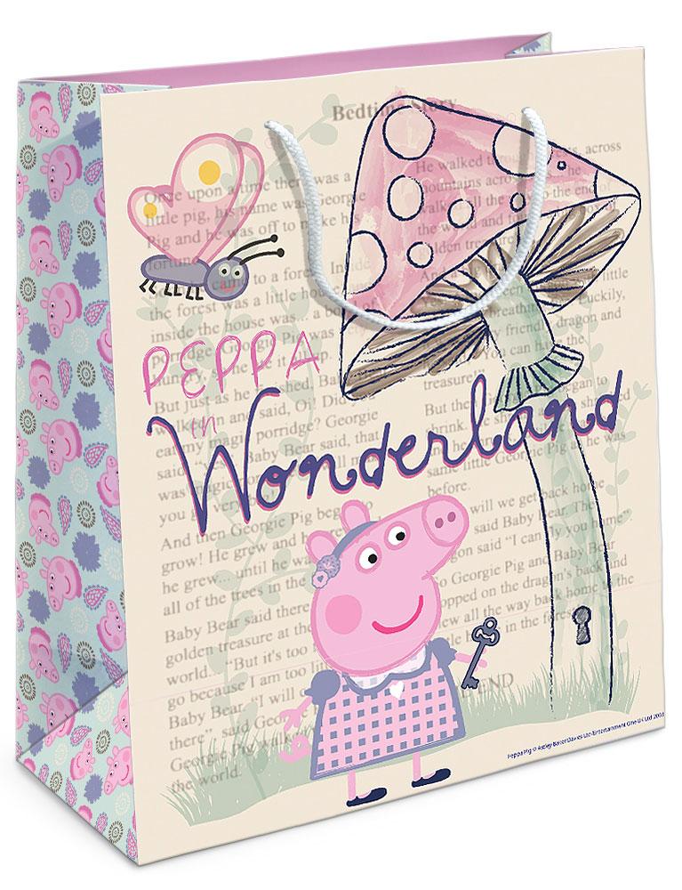 Peppa Pig Пакет подарочный Страна чудес Пеппы