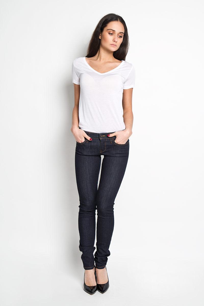 Джинсы женские Diesel, цвет: темно-синий. 00S54P-0813C/01. Размер 27-32 (42/44-32) джинсы s oliver джинсы superskinny