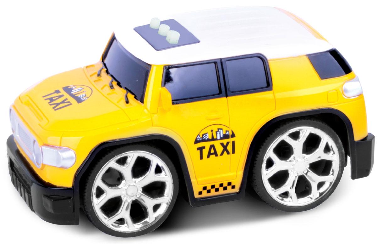Bluesea Машинка со светом и звуком цвет желтый машинка детская tomy с вибрацией и звуком