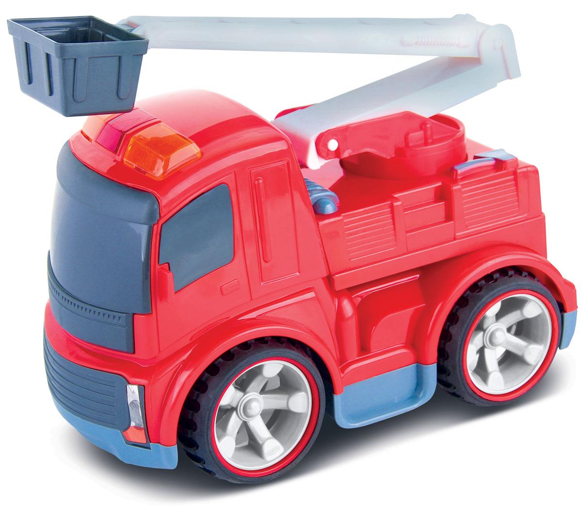 Bluesea Пожарная машинка на радиоуправлении bluesea квадрокоптер на радиоуправлении cx 10 цвет голубой