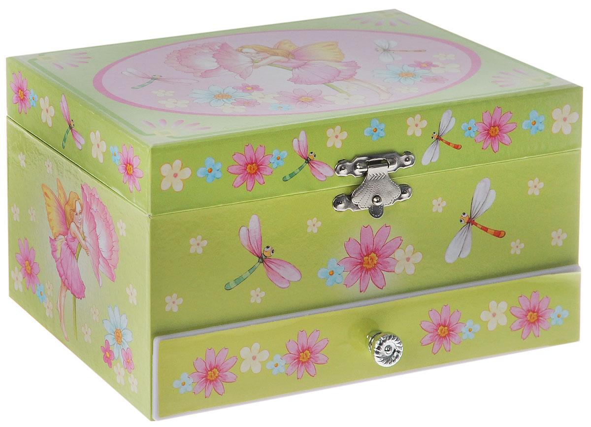 Jakos Музыкальная шкатулка Эльф с цветком -  Детская комната