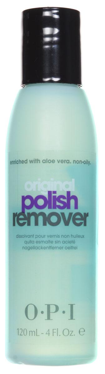 OPI Жидкость для снятия лака, с экстрактом алоэ, 120 мл жидкость для снятия лака для искусственных и чувствительных ногтей