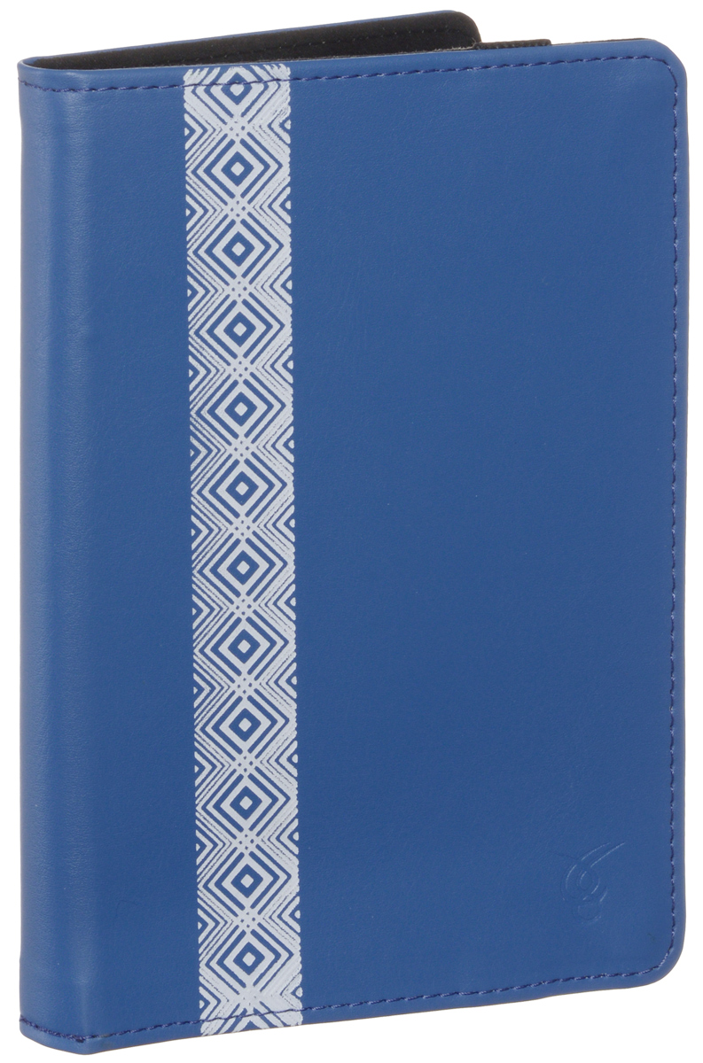 Vivacase Romb чехол для PocketBook 614/622/623/624/626/640, Blue (VPB-P6R02-blue)