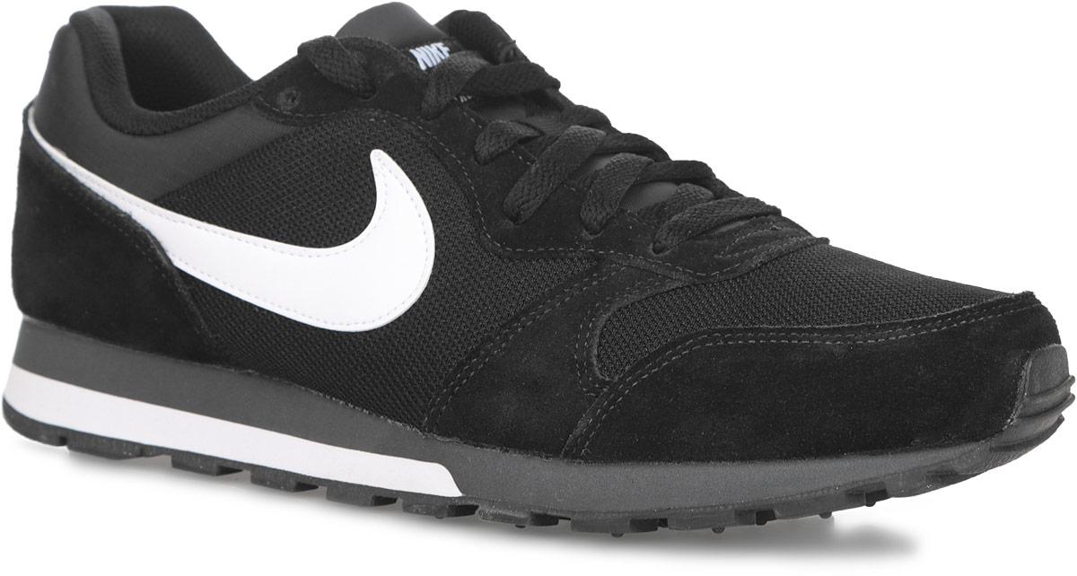 Кроссовки мужские Nike MD Runner 2, цвет: черный. 749794-010. Размер 12,5 (46)