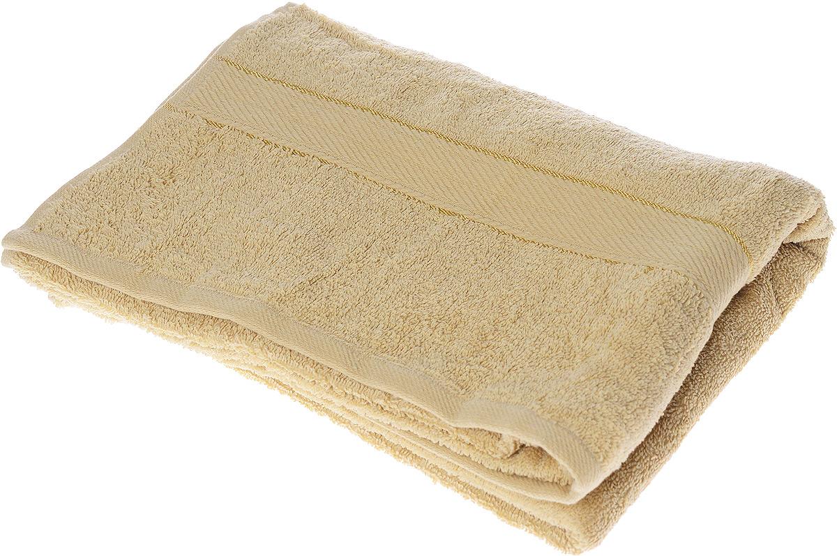 Полотенце махровое Osborn Textile Коса, цвет: кофе с молоком, 70 х 140 см