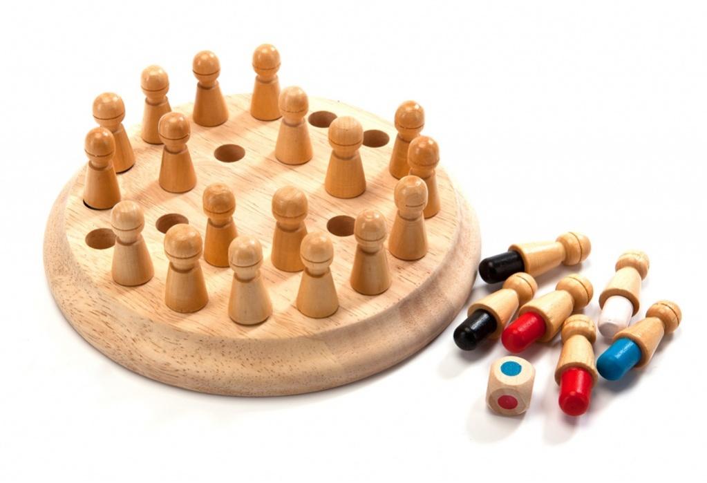 Bradex Шахматы для тренировки памяти Мнемоники