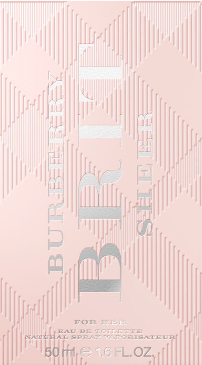 Burberry Brit Sheer Woman Туалетная вода, 50 мл духи burberry brit sheer 100ml