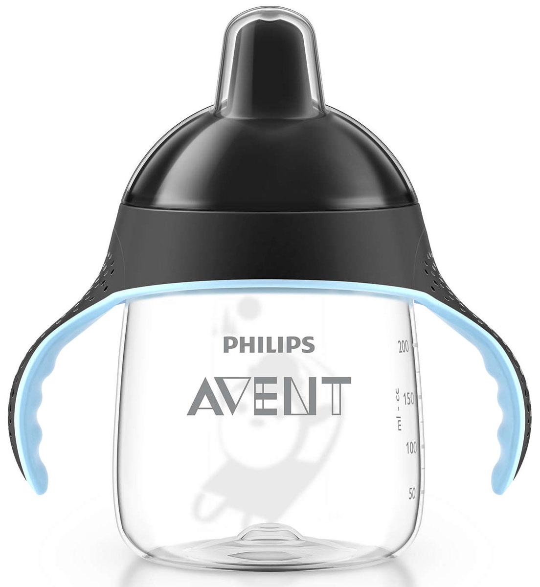 Philips Avent Волшебная чашка-непроливайка для детей от 12мес., черный SCF753/00 -  Поильники
