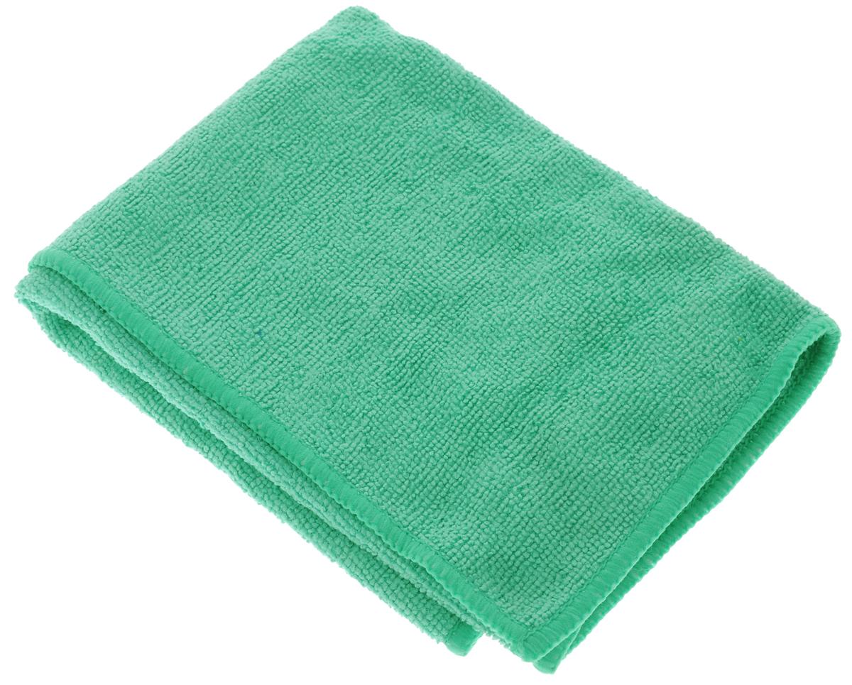 Салфетка чистящая Sapfire Cleaning Сloth, цвет: зеленый, 35 х 40 смSFM-3001_зелёныйБлагодаря своей уникальной ворсовой структуре, салфетка Sapfire Cleaning Сloth прекрасно подходит для мытья и полировки автомобиля.Материал салфетки: микрофибра (85% полиэстер и 15% полиамид), обладает уникальной способностью быстро впитывать большой объем жидкости. Клиновидные микроскопические волокна захватывают и легко удерживают частички пыли, жировой и никотиновый налет, микроорганизмы, в том числе болезнетворные и вызывающие аллергию. Салфетка великолепно удаляет пыль и грязь. Протертая поверхность становится идеально чистой, сухой, блестящей, без разводов и ворсинок. Микрофибра устойчива к истиранию, ее можно быстро вернуть к первоначальному виду с помощью машинной стирки при малом количестве моющих средств. Состав: 85% полиэстер, 15% полиамид.Размер салфетки: 35 х 40 см.