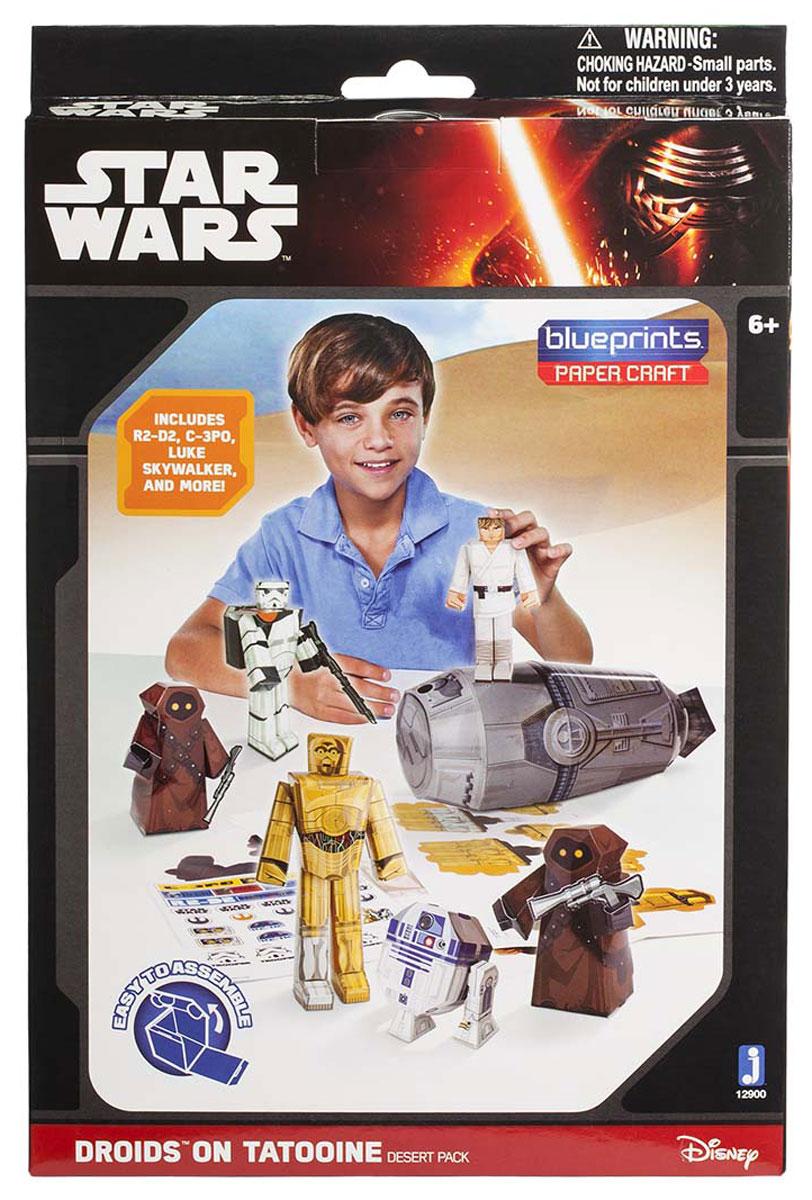 Star Wars 3D Пазл Blueprints Escape Pod Desert Pack