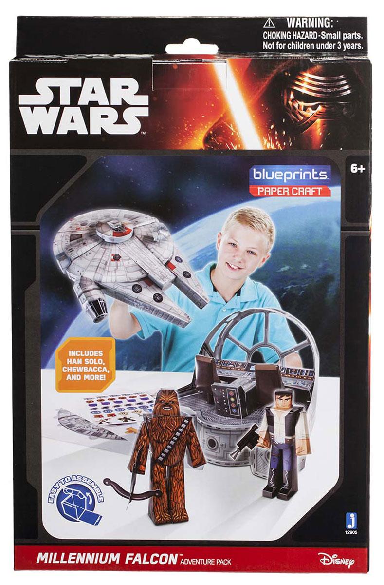 Star Wars 3D Пазл Blueprints Classic Falcon Pack