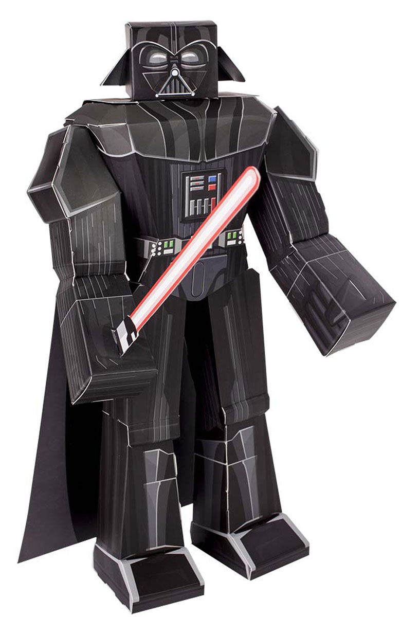 Star Wars 3D Пазл Blueprints Darth Vader