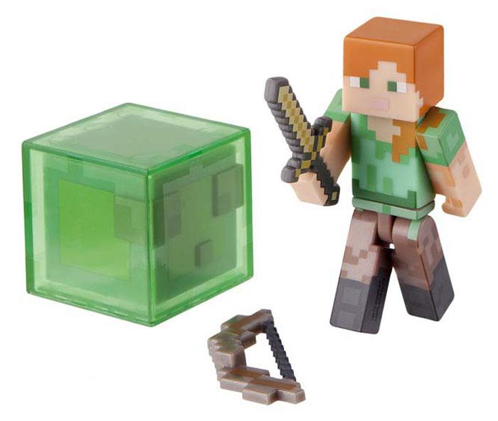 Minecraft Фигурка Алекс с мечом и луком minecraft мини фигурка