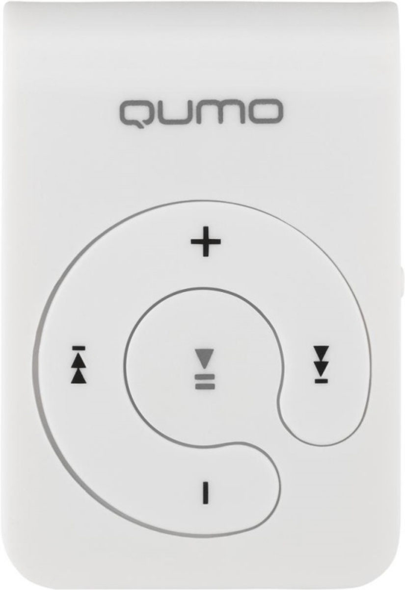 Qumo Hit, White MP3-плеер плеер qumo marshmallow 8gb black 20576