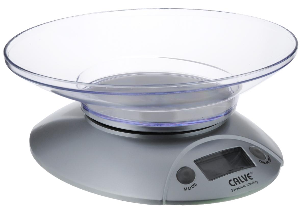 Calve CL-4591 весы кухонныеCL-4591Кухонные электронные весы Calve CL-4591 - незаменимые помощники современной хозяйки. Они помогут точно взвесить любые продукты и ингредиенты. Кроме того, позволят людям, соблюдающим диету, контролировать количество съедаемой пищи и размеры порций. Предназначены для взвешивания продуктов с точностью измерения 1 г.