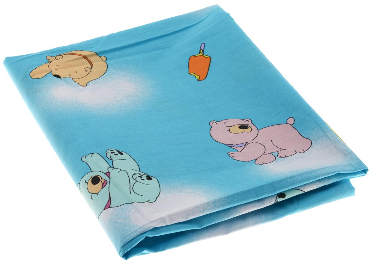"""Детский пододеяльник Фея """"Мишки с мороженым"""" идеально подойдет для одеяла вашего малыша. Изготовленный из 100% хлопка, он необычайно мягкий и приятный на ощупь, позволяет коже """"дышать"""". Натуральный материал не раздражает даже самую нежную и чувствительную кожу ребенка, обеспечивая ему наибольший комфорт. Приятный рисунок пододеяльника, несомненно, понравится малышу и привлечет его внимание. Под одеялом с таким пододеяльником кроха будет спать здоровым и крепким сном. Размер пододеяльника: 110 см х 140 см."""