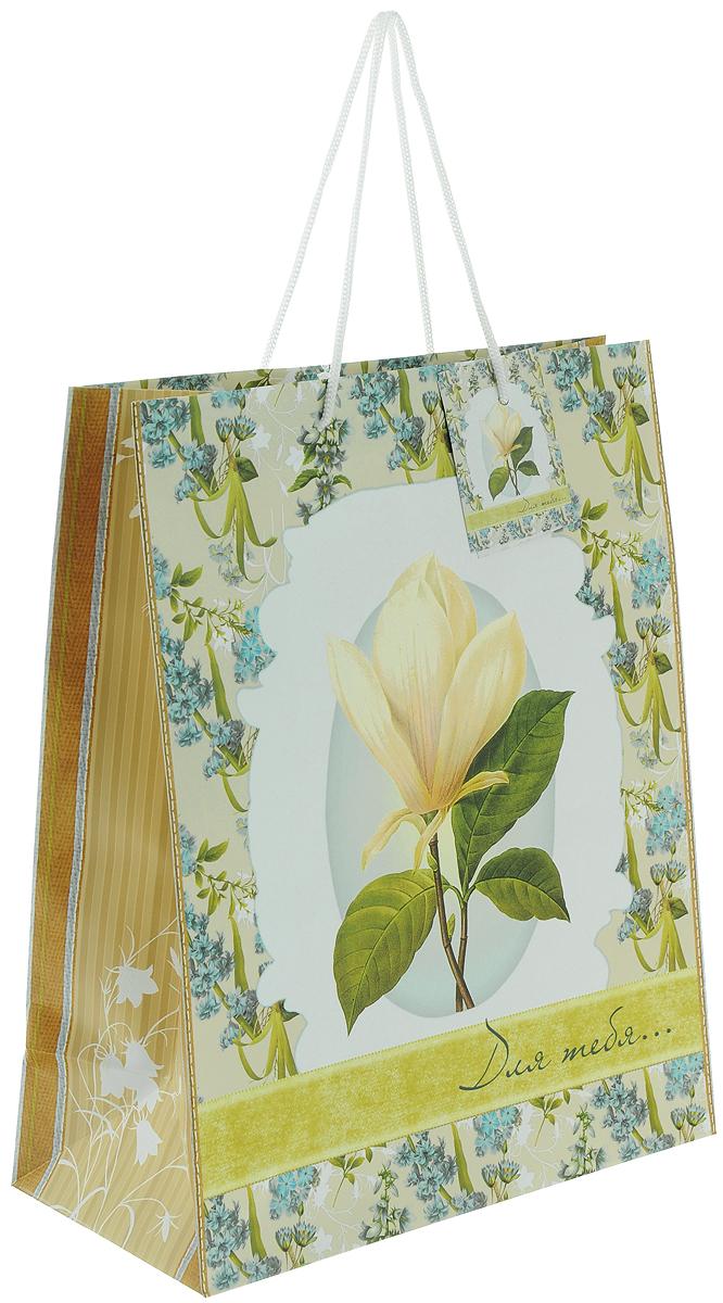 Пакет подарочный Феникс-Презент Летние цветы, 26 х 32,4 х 12,7 см вставка для теплицы из оцинк трубы презент воля 2м поликарбонат