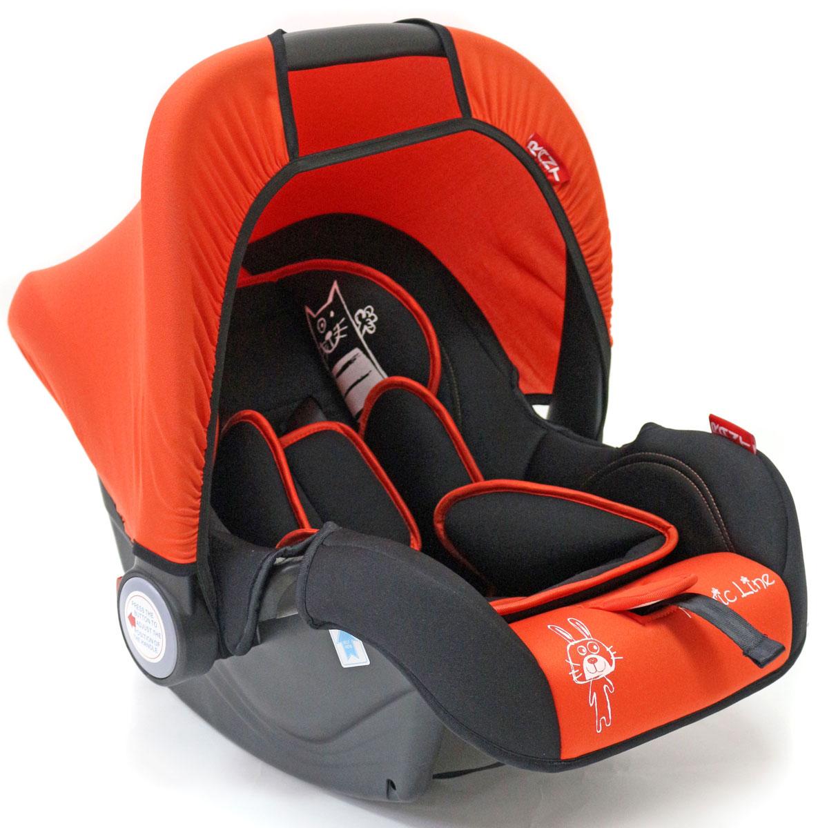 Rant Автокресло Miracle цвет красный до 13 кг4630008876657Детское автокресло-переноска Rant Miracle разработано для малышей весом до 13 кг (приблизительно до 12 месяцев). Особенности: Сиденье удобной формы с мягким вкладышем обеспечивает защиту и идеальное положение шеи и спины малыша, а также делает кресло комфортным и безопасным. Автокресло (переноска) Miracle имеет внутренние 3-х точечные ремни безопасности с плечевыми накладками (уменьшают нагрузку на плечи малыша). Накладки обеспечивают плотное прилегание и надежно удержат малыша в кресле в случае ударов. Ремни удобно регулировать под рост и комплекцию ребенка без особых усилий. Удобная ручка для переноски малыша регулируется в 4-х положениях: для устойчивости автокресла в автомобиле, для переноски малыша, вне автомобиля автокресло можно использовать как кресло-качалку или кресло-шезлонг. Съемный тент защитит от яркого солнца или ветра, когда вы гуляете с малышом на свежем воздухе. Съемный чехол автокресла Miracle изготовлен из гипоаллергенной эластичной ткани, легко чистится и стирается вручную или в деликатном режиме в стиральной машине при температуре 30°. Установка и крепление: Автокресло (переноска) Miracle устанавливается лицом против движения автомобиля и крепится штатными автомобильными ремнями. Ребенок фиксируется внутренними ремнями безопасности. Такое положение обеспечивает максимальную безопасность маленькому пассажиру. Рекомендуется устанавливать автокресло на заднем сиденье автомобиля. Производитель допускает перевозку на переднем сиденье, в этом случае необходимо отключить фронтальные подушки безопасности. Автокресло (переноска) Miracle сертифицировано и соответствует европейскому стандарту безопасности ECE R44-04.