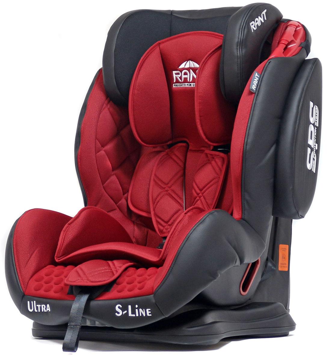 Rant Автокресло Ultra SPS цвет красный от 9 до 36 кг4630008878774Автокресло Rant Ultra SPS группы 1-2-3 предназначено для детей весом от 9 до 36 кг (возраст от 9 месяцев до 12 лет), крепится штатными ремнями безопасности автомобиля, устанавливается по ходу движения автомобиля. Кресло оснащено пятиточечным ремнем безопасности с мягкими плечевыми накладками и антискользящими нашивками, 3-х ступенчатой настройкой высоты подголовника, корректировкой высоты ремня безопасности по уровню подголовника. 3 положения наклона корпуса, устойчивая база, фиксатор высоты штатных ремней безопасности, дополнительная боковая защита, съемный чехол, мягкий съемный вкладыш для малыша делают это кресло идеальным средством для защиты ребенка во время передвижения на автомобиле.Сертификат Европейского Стандарта Безопасности ЕCE R44/04.