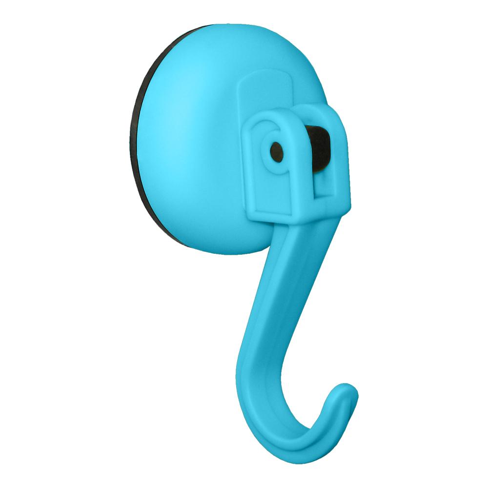 Крючок Tatkraft Kalev Magic Hook, на вакуумной присоске, цвет: синий11984Крючок Tatkraft Kalev Magic Hook - на вакуумной присоске, диаметр 60 мм. Крепление на гладких не шероховатых поверхностях. Максимальный вес нагрузки до 5 кг.