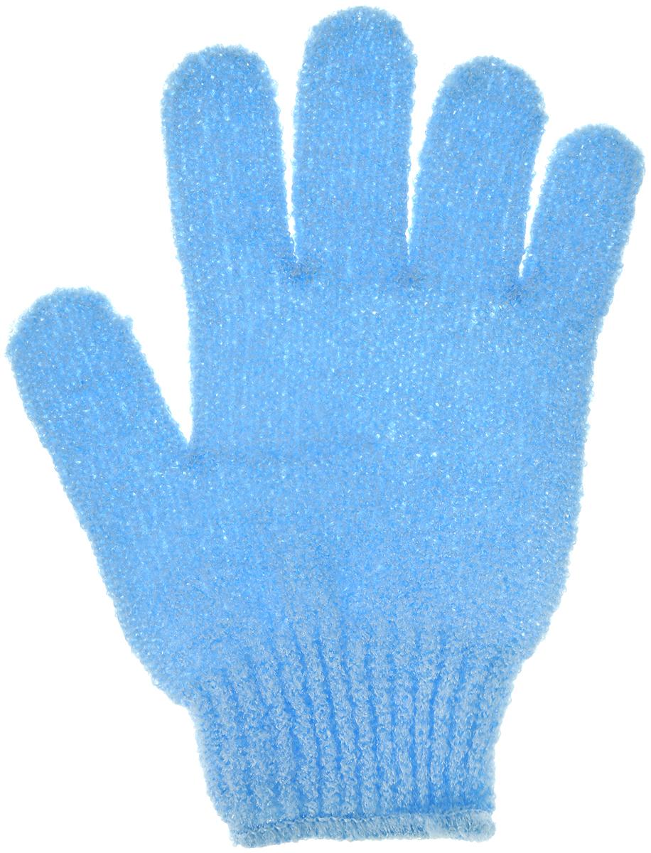 Перчатка массажная The Body Time, цвет: голубой, 17,5 х 12,5 см5720_ голубой1Массажная перчатка The Body Time выполненная из нейлона, прекрасно массирует, тонизирует и очищает кожу. Обладая эффектом скраба, перчатка мягко отшелушивает верхний слой эпидермиса, стимулируя рост новых, молодых клеток, делая кожу здоровой и красивой. Перчатка используется для душа или для массажных процедур. Размер перчатки: 17,5 х 12,5 см.Как ухаживать за ногтями: советы эксперта. Статья OZON Гид