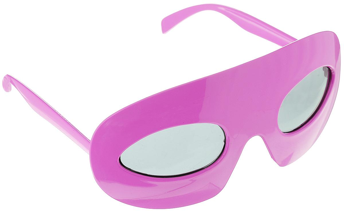 Очки карнавальные Lunten Ranta Летние, цвет: ярко-розовый. 59819 гирлянда электрическая lunten ranta сосулька 20 светодиодов длина 2 85 м