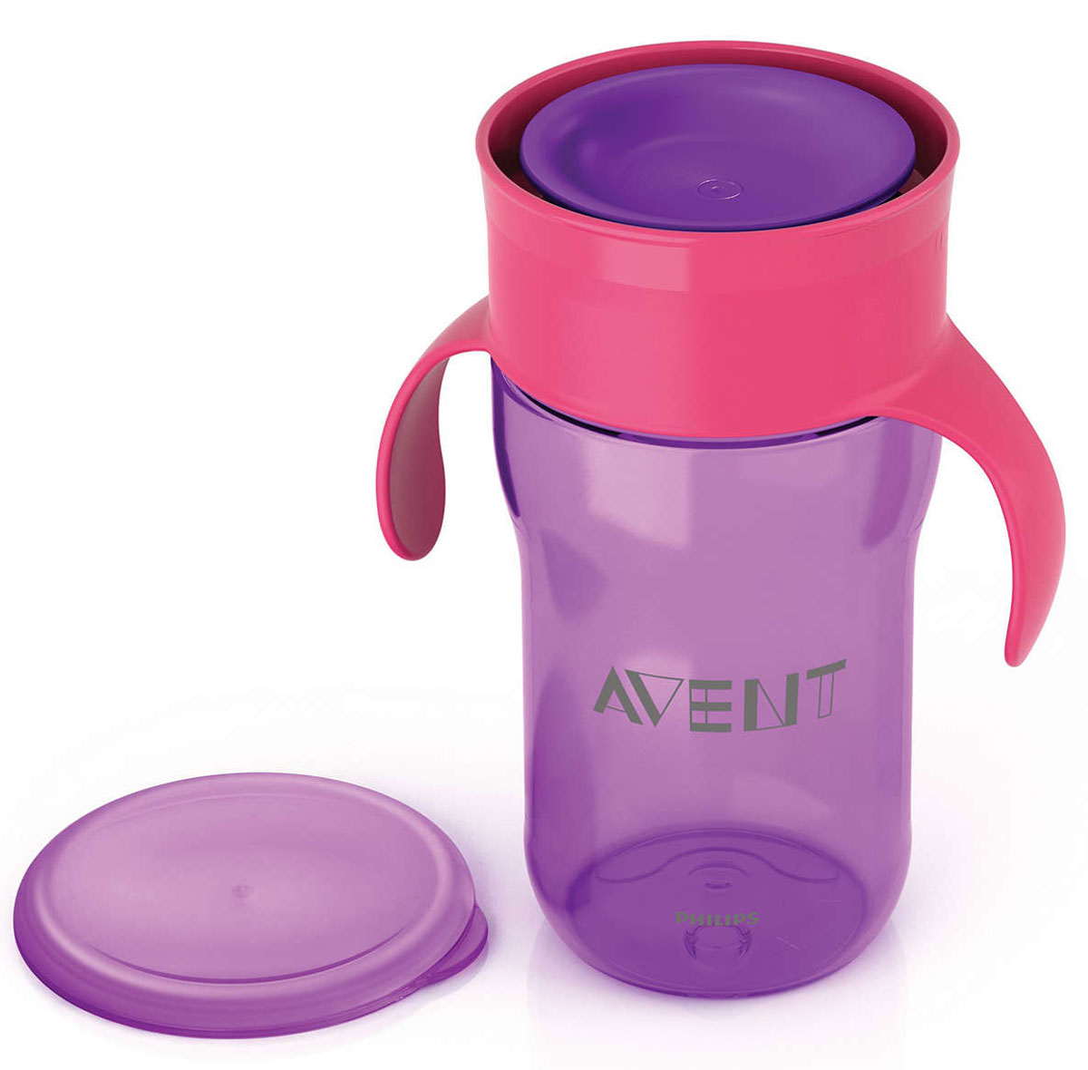 Philips Avent  Взрослая  чашка, 340 мл, 18м+, 1 шт фиолетовый SCF784/00 -  Поильники