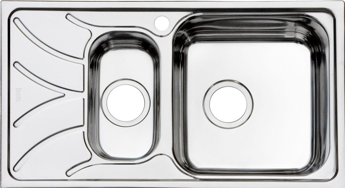 """Корпус мойки Iddis """"Arro"""" выполнен из специальной нержавеющей стали марки 304 с содержанием хрома 18%, и никеля 10%. Это гарантирует устойчивость к воздействию химических веществ, появлению пятен и коррозии. Толщина стали в мойке 0,8 мм. Специальное дополнительное антишумовое покрытие Silenon, нанесенное на обратную сторону чаш, разработано для снижения шума воды в мойке.  Конструкция краев мойки, крепления и специальная уплотнительная прокладка обеспечивает максимально плотное прилегание к столешнице и защищает от протекания. Мойка из нержавеющей стали Iddis имеет изготовленное на заводе отверстие под смеситель, что делает ее полностью готовой к установке. Наличие шаблона для выреза отверстия в столешнице для каждой модели облегчает процесс установки моек Iddis.  Гарантия на мойки из нержавеющей стали Iddis составляет 15 лет.Глубина чаш: 180 и 120 мм, размер чаш: 350 х 370 и 162 х 300 мм."""
