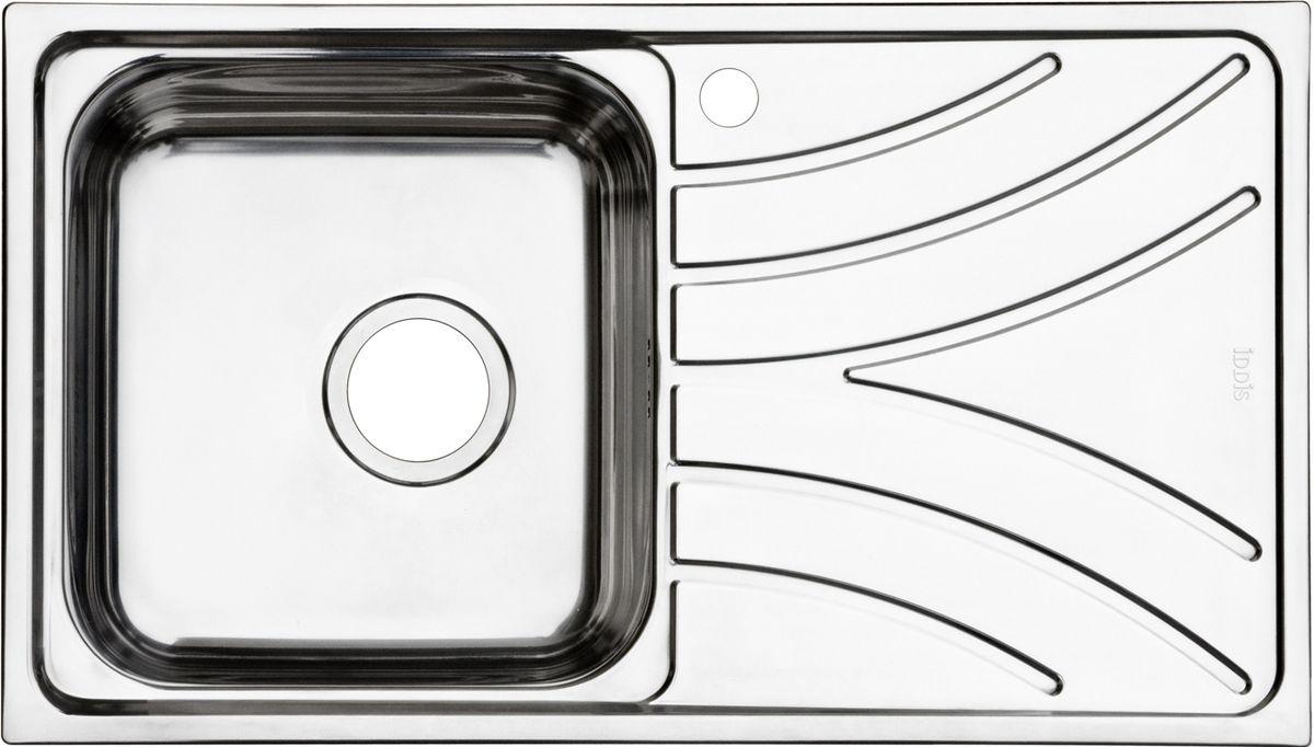 """Корпус мойки Iddis """"Arro"""" выполнен из специальной нержавеющей стали марки 304 с содержанием хрома 18%, и никеля 10%. Это гарантирует устойчивость к воздействию химических веществ, появлению пятен и коррозии. Толщина стали в мойке 0,8 мм.  Специальное дополнительное антишумовое покрытие Silenon, нанесенное на обратную сторону чаш, разработано для снижения шума воды в мойке.   Конструкция краев мойки, крепления и специальная уплотнительная прокладка обеспечивает максимально плотное прилегание к столешнице и защищает от протекания.  Мойка из нержавеющей стали Iddis имеет изготовленное на заводе отверстие под смеситель, что делает ее полностью готовой к установке.  Наличие шаблона для выреза отверстия в столешнице для каждой модели облегчает процесс установки моек Iddis.   Гарантия на мойки из нержавеющей стали Iddis составляет 15 лет. Глубина чаши: 180 мм, размер чаши: 350 х 370 мм."""