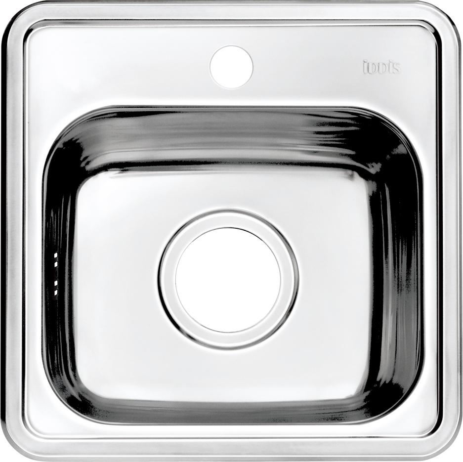 """Корпус мойки Iddis """"Strit"""" выполнен из специальной нержавеющей стали марки 304 с содержанием хрома 18%, и никеля 10%. Это гарантирует устойчивость к воздействию химических веществ, появлению пятен и коррозии. Толщина стали в мойке 0,8 мм. Специальное дополнительное антишумовое покрытие Silenon, нанесенное на обратную сторону чаш, разработано для снижения шума воды в мойке.  Конструкция краев мойки, крепления и специальная уплотнительная прокладка обеспечивает максимально плотное прилегание к столешнице и защищает от протекания. Мойка из нержавеющей стали Iddis имеет изготовленное на заводе отверстие под смеситель, что делает ее полностью готовой к установке. Наличие шаблона для выреза отверстия в столешнице для каждой модели облегчает процесс установки моек Iddis.  Гарантия на мойки из нержавеющей стали Iddis составляет 15 лет.Глубина чаши: 152 мм, размер чаши: 310 х 285 мм."""